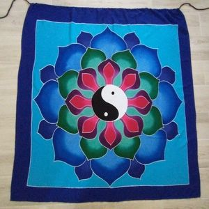 Large Yin Yang Tapestry Mandala Wall Hanging Throw